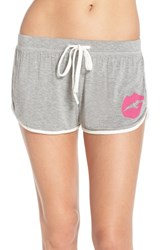 Women's Junk Food 'Kiss' Jersey Shorts