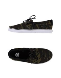 C1rca Low Tops And Trainers Military Green