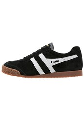 Gola Harrier Trainers Black Grey Black Denim