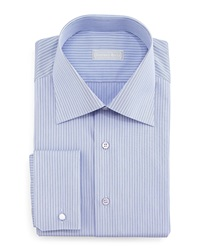 Stefano Ricci Narrow Stripe Dress Shirt Navy