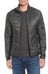 Smartwool Men's Double Corbet 120 Water Resistant Quilted Jacket Graphite