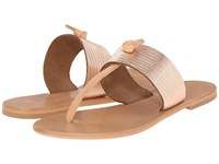 Joie Nice Rose Gold Vacchetta Women's Toe Open Shoes Neutral