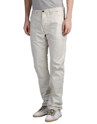 Diesel Black Gold Casual Pants Light Grey