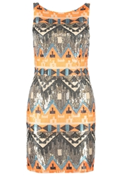 Deby Debo Cocktail Dress Party Dress Orange