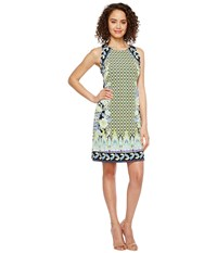 Hale Bob Sunshine Daze Microfiber Jersey Dress Lime Women's Dress Green