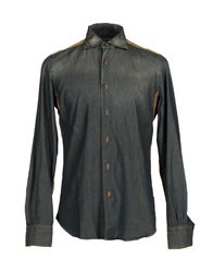 Coast Weber And Ahaus Denim Shirts Blue