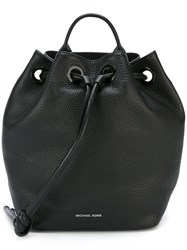 Michael Michael Kors Large 'Dalia' Backpack Black