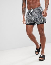 Calvin Klein Nyc Jammer And Swim Shorts Combi Black