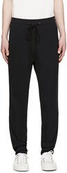 3.1 Phillip Lim Black Embroidered Lounge Pants