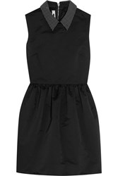 Mcq By Alexander Mcqueen Studded Satin Mini Dress