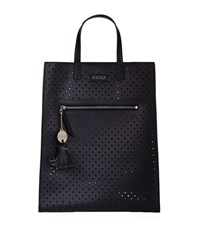 Claudie Pierlot Alow Perforated Tote Female Blue