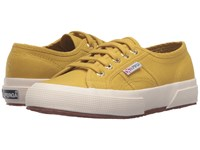 Superga 2750 Cotu Classic Mustard Lace Up Casual Shoes Yellow