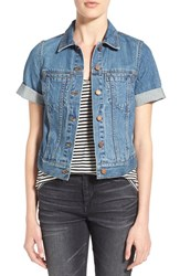 Women's Madewell Short Sleeve Denim Jacket