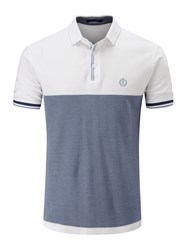 Henri Lloyd Men's Huxley Regular Polo White
