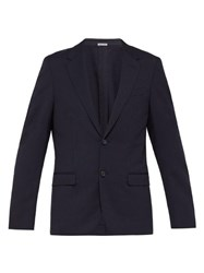 Lanvin Wool Blend Jacket Navy