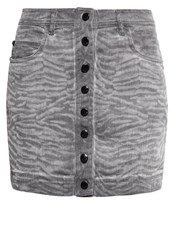 Just Cavalli Mini Skirt Grey