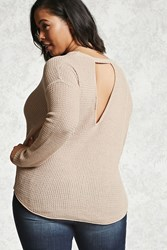 Forever 21 Plus Size Back Cutout Sweater