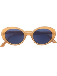 Oliver Peoples 'Deep Amber' Sunglasses Yellow And Orange