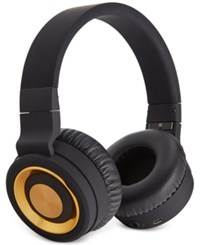 Sharper Image Bluetooth Headphones Gold
