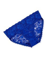 Cosabella Never Say Never Tootsie Lace Bikini Briefs Ultra Blue