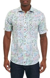 Robert Graham Men's Diu Beach Linen Sport Shirt