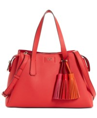 Guess Trudy Girlfriend Large Satchel Poppy