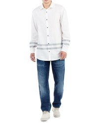 True Religion Collegiate Cotton Sport Shirt White