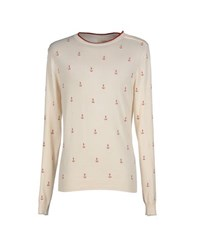 Eleven Paris Knitwear Jumpers Men Ivory