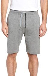 Tasc Performance Legacy Ii Semi Fitted Knit Gym Shorts Heather Gray