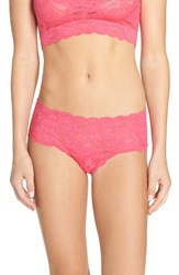 Cosabella Women's 'Never Say Never' Hipster Briefs Hot Pink