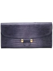 Yves Saint Laurent Vintage Hand Clutch Pink And Purple