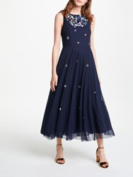 Bruce By Bruce Oldfield Embellished Dress Navy