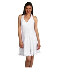 Scully Cantina Halter Dress White Women's Dress