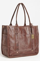 Frye 'Campus' Shopper Brown Walnut