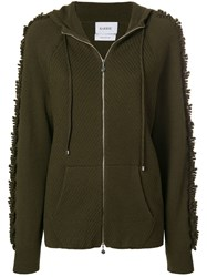 Barrie Cashmere Hoodie Green
