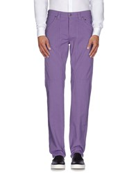 Jeckerson Trousers Casual Trousers Men Purple
