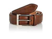 Harris Men's Smooth Leather Belt Brown Tan