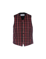 Mauro Grifoni Vests Red