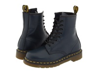Dr. Martens 1460 Navy Smooth Lace Up Boots Blue