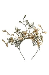 Colette Malouf 'Jasmine' Fascinator Headband Metallic