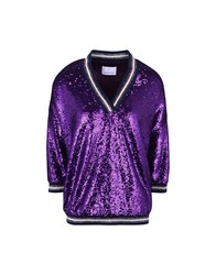 George J. Love Shirts Blouses Purple