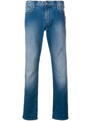 Emporio Armani Slim Denim Jeans Blue