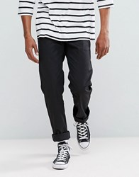 Brixton Fleet Rigid Chino In Relaxed Fit Black