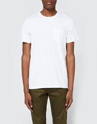 Wings Horns Original Pocket T Shirt In White