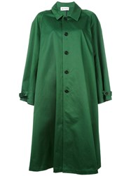 Barena Oversized Coat Women Cotton Xs S Green