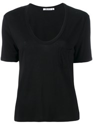 Alexander Wang T By Ruched T Shirt Black