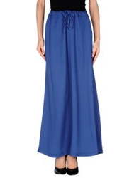 Gotha Long Skirts Dark Blue