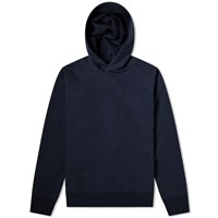 Nanamica Graphic Hooded Parka Blue