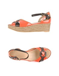 Maliparmi Footwear Espadrilles Women Orange