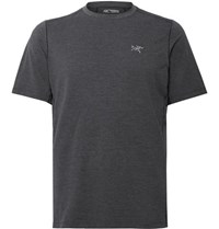 Arc'teryx Cormac Ostria Running T Shirt Dark Gray